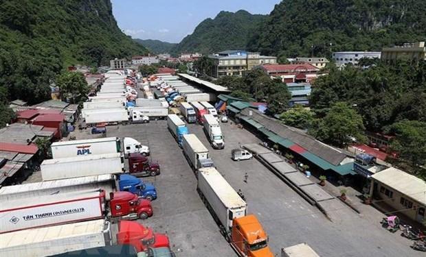 Lạng Sơn: Hàng nghìn tấn nông sản bị ùn ứ tại cửa khẩu Tân Thanh