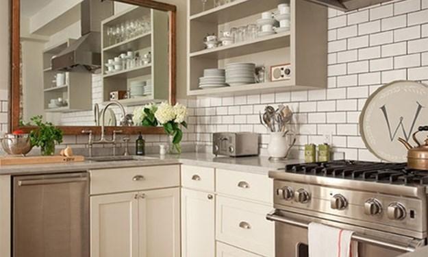 Những bí quyết đơn giản giúp căn bếp nhỏ hẹp trở nên rộng thoáng