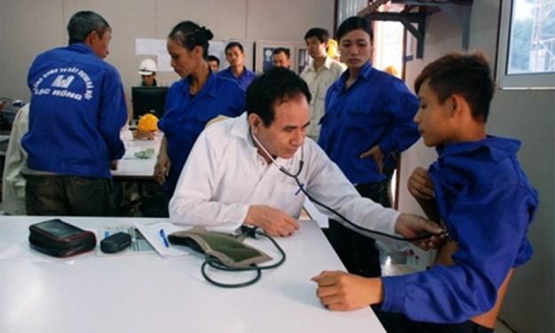 Hỗ trợ kinh phí khám, chữa bệnh nghề nghiệp cho người lao động
