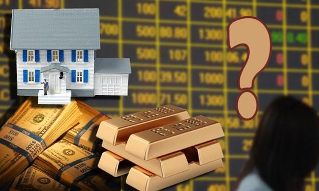 Trong vòng xoáy bất định, đầu tư vàng, chứng khoán hay bất động sản?