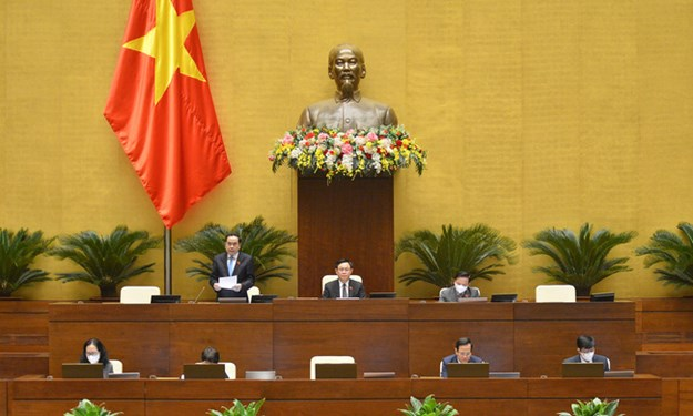 Ngày 28/10, Quốc hội thảo luận trực tuyến về 02 dự ánLuật