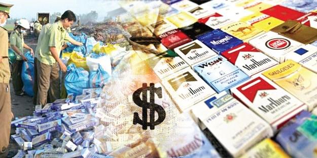 Mỗi năm ngân sách nhà nước thất thoát hơn 10.000 tỷ đồng từ buôn lậu thuốc lá