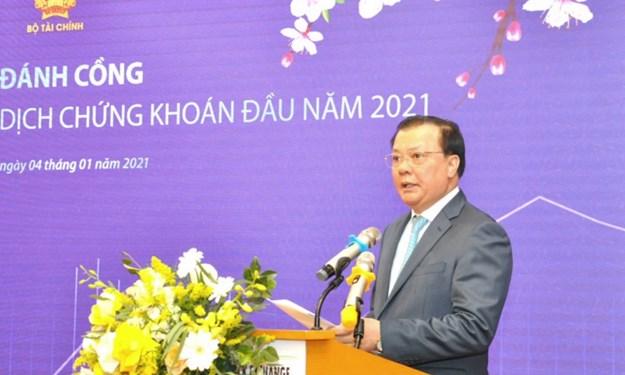 Bộ trưởng Bộ Tài chính giao nhiệm vụ cho ngành Chứng khoán tận dụng những vận hội mới