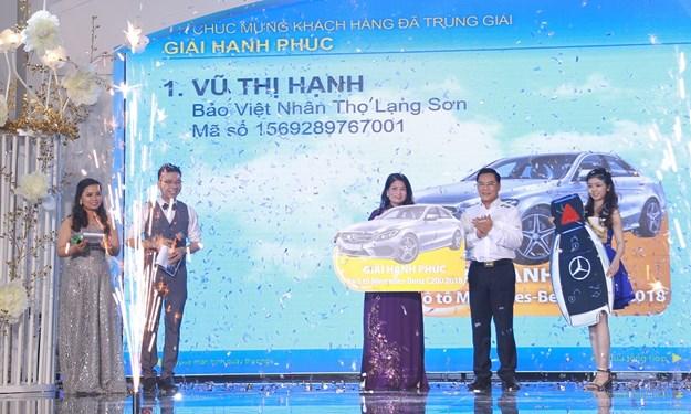 """Tham gia """"Mùa hè sôi động"""" của Bảo Việt, khách hàng trúng ngay ô tô Mercedes trị giá 1,5 tỷ đồng"""
