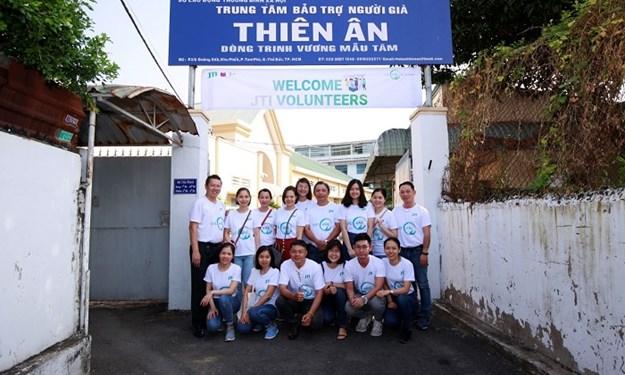 JTI VIETNAM: Khởi động chiến dịch tình nguyện 2020