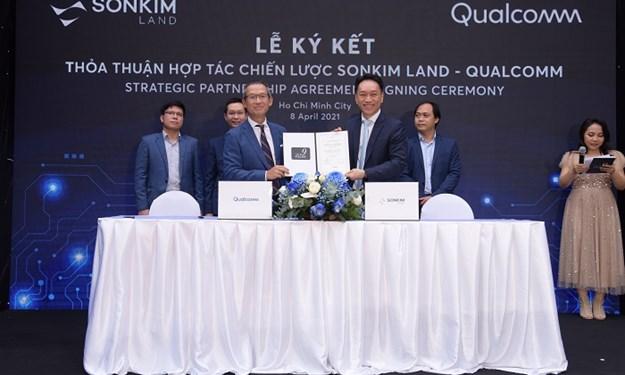 Hợp tác chiến lược giữa SonKim Land và Qualcomm