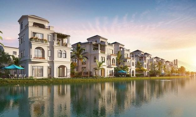 Biệt thự Mặt Nước sinh thái Vinhomes Marina thu hút lớn giới đầu tư và giới thượng lưu Hải Phòng