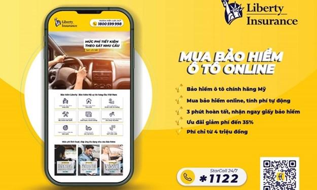 Liberty – Công ty bảo hiểm đầu tiên ra mắt Bảo hiểm ô tô trực tuyến tại Việt Nam