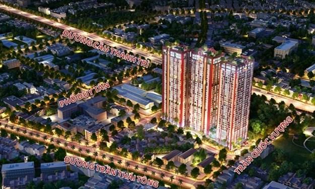 Hanoi Paragon hút khách nhờ vị trí vàng và thiết kế căn hộ đẳng cấp ngay trung tâm Cầu Giấy