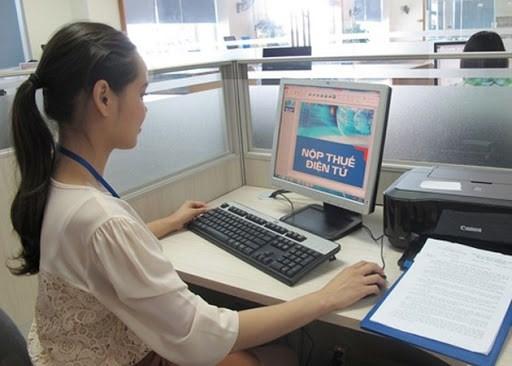 Xác nhận số thuế đã nộp NSNN bằng phương thức điện tử