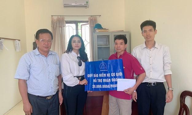 Quỹ bảo hiểm xe cơ giới hỗ trợ gia đình nạn nhân tử vong do tai nạn giao thông tại Hải Dương, Hải Phòng