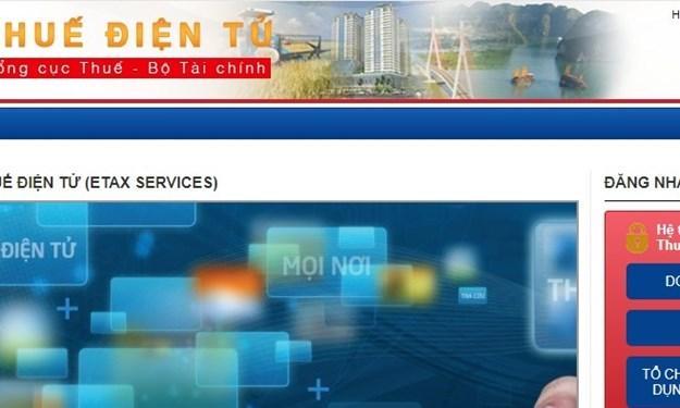 Tổng cục Thuế lưu ý 02 tình huống thường gặp khi sử dụng Dịch vụ thuế điện tử eTax