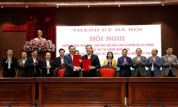 Bộ Tài chính và TP. Hà Nội phối hợp chặt chẽ, hiệu quả trong công tác tài chính - ngân sách