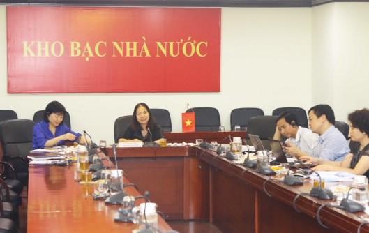 Kho bạc Nhà nước Việt Nam tham dự Hội nghị trực tuyến của Hiệp hội Kho bạc quốc tế