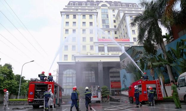 Kho bạc Nhà nước tập huấn công tác phòng cháy chữa cháy và cứu nạn cứu hộ
