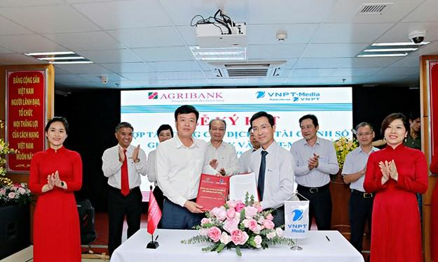 Agribank và VNPT- Media hợp tác cung cấp dịch vụ FinTech