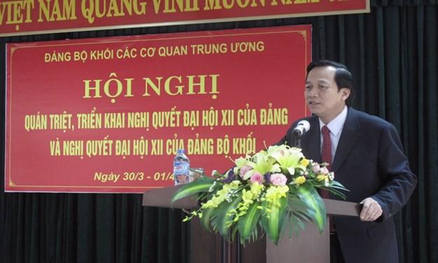 4 nội dung trọng tâm trong công tác dân vận của Đảng ủy Khối các cơ quan Trung ương