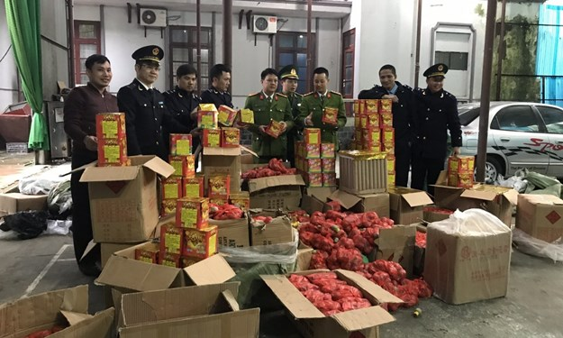 Phát hiện, bắt giữ 894 kg pháo nổ nhập lậu từ Trung Quốc