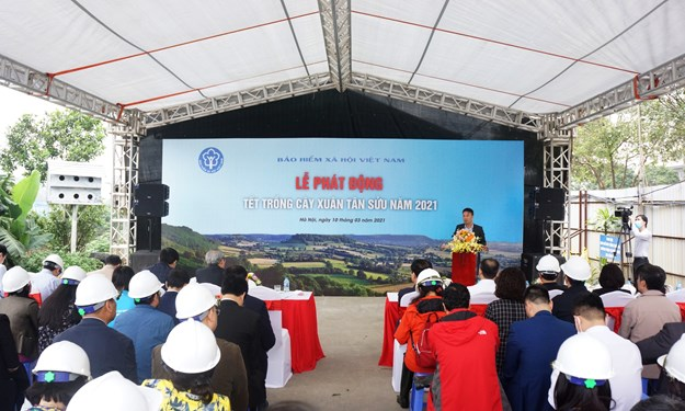 """BHXH Việt Nam tổ chức Lễ phát động """"Tết trồng cây"""" Xuân Tân Sửu năm 2021"""