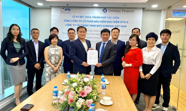 PTI và Shinhan Finance ký kết biên bản hợp tác toàn diện