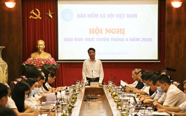 [Ảnh] Những hoạt động nổi bật của lĩnh vực BHXH, BHYT trong tháng 8/2020