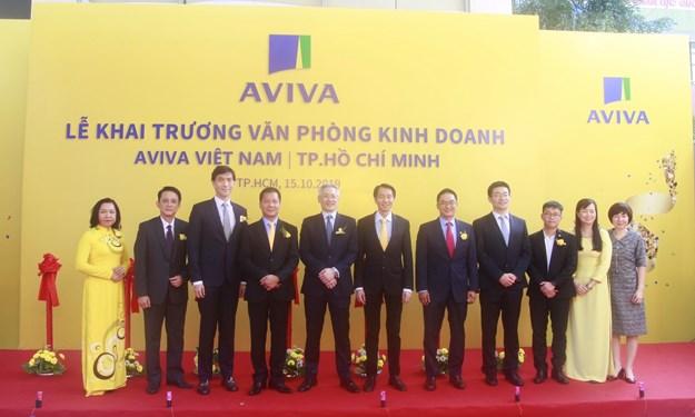 Aviva Việt Nam khai trương văn phòng kinh doanh thứ hai tại TP. Hồ Chí Minh
