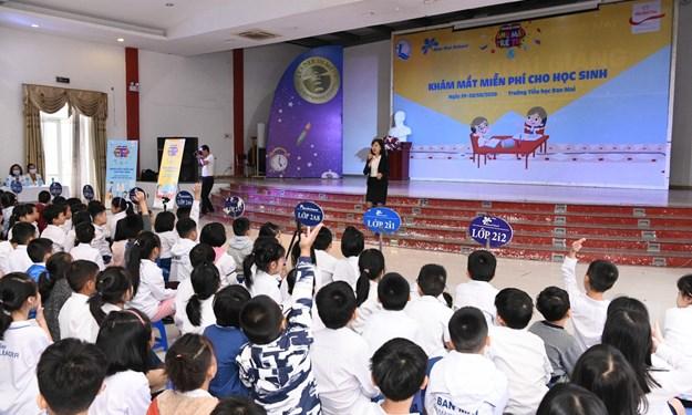 Prudential và Quỹ Bảo trợ trẻ em tiếp tục hành động vì ánh mắt trẻ thơ