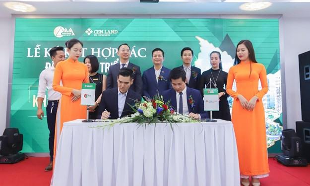 CENLAND và Khai Sơn hợp tác đầu tư phát triển dự án Khai Sơn Town