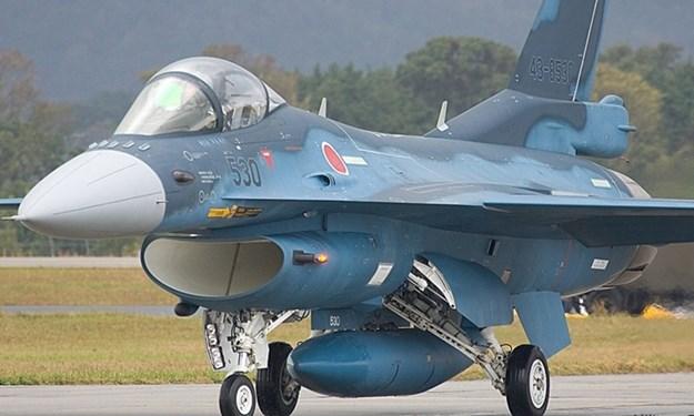 Cận cảnh máy bay tiêm kích săn hạm Nhật Bản Mitsubishi F-2