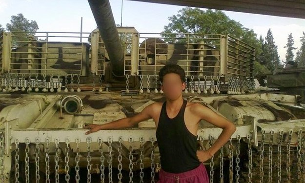 Những chiếc xe tăng T-72 được