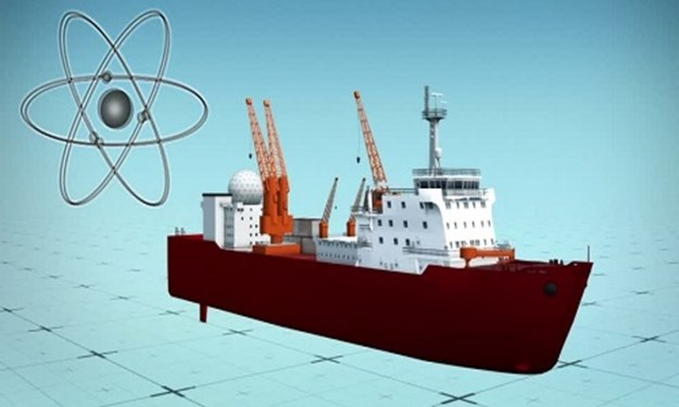 [Video] Trung Quốc đóng tàu nguyên tử trọng lượng rẽ nước 33.000 tấn