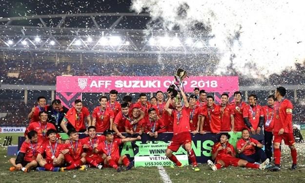 [Infographic] Hành trình chinh phục cúp vàng AFF Cup của đội tuyển Việt Nam