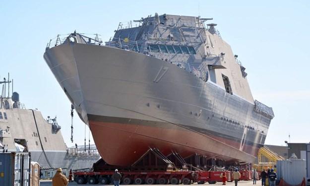 [Video] Tàu tác chiến ven biển Mỹ