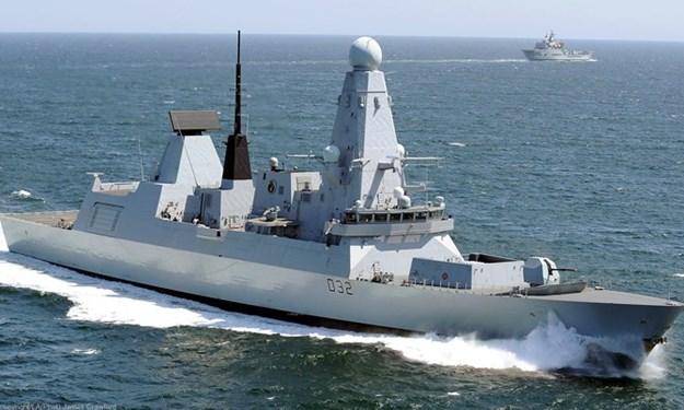 Khu trục hạm Type-45: Lá chắn phòng không di động hiện đại của Anh