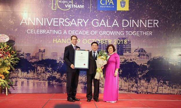 CPA Australia kỷ niệm 10 năm hoạt động tại Việt Nam
