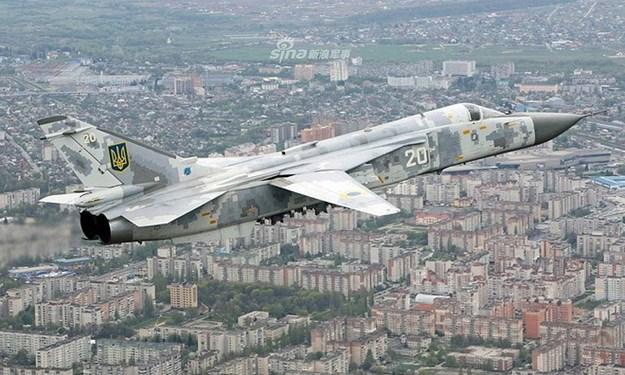Ukraine khoe loạt chiến đấu cơ mới nâng cấp để răn đe lực lượng ly khai thân Nga
