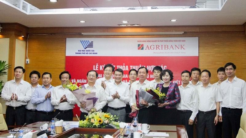 Agribank ký thoả thuận hợp tác toàn diện với Đại học Quốc gia TP. Hồ Chí Minh