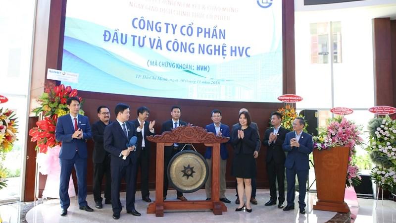 HVC chính thức niêm yết trên sàn chứng khoán TP. Hồ Chí Minh