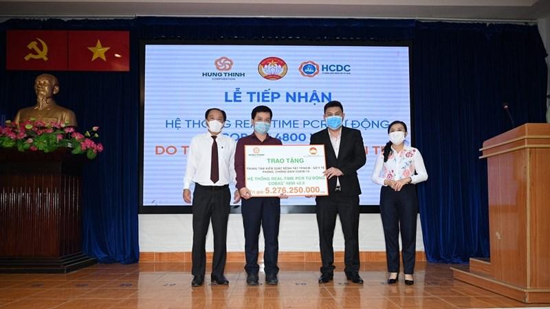 Tập đoàn Hưng Thịnh tài trợ miễn phí vắc-xin Covid-19 cho nhân viên và người nhà