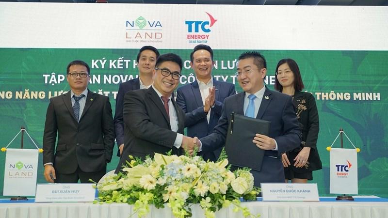 Novaland hợp tác với TTC Energy phát triển đô thị sinh thái thông minh Aqua City