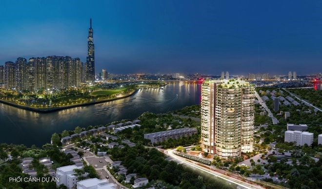 Sunshine Group giới thiệu căn hộ siêu sang, tầm nhìn rộng mở về sông Sài Gòn