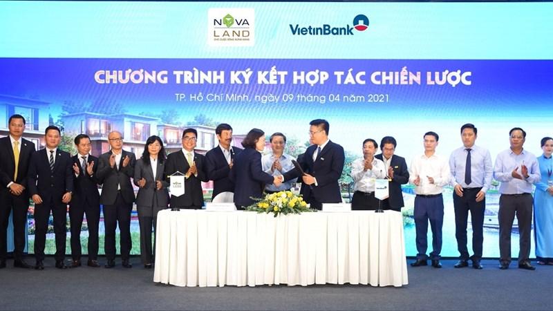 Viettinbank và Novaland ký kết biên bản hợp tác chiến lược