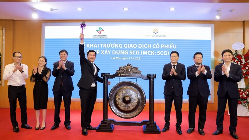 50 triệu cổ phiếu SCG chính thức chào sàn HNX