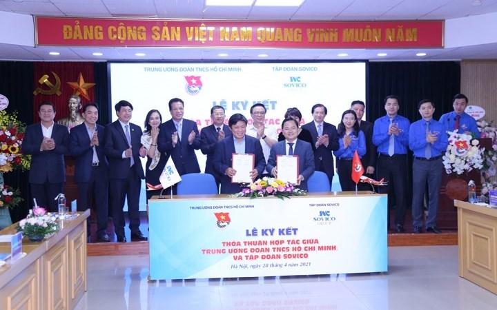 Tập đoàn Sovico và Trung ương Đoàn ký Thỏa thuận hợp tác