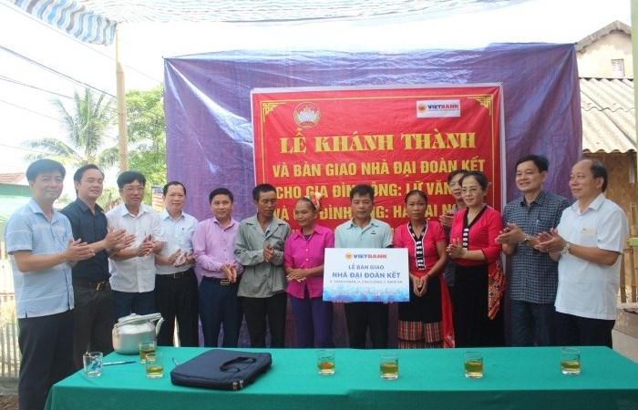 Vietbank trao tặng 2 căn nhà tình nghĩa tại Nghệ An