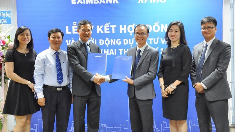 Eximbank ký kết với công ty kiểm toán hàng đầu thế giới để đạt các tiêu chuẩn cao nhất