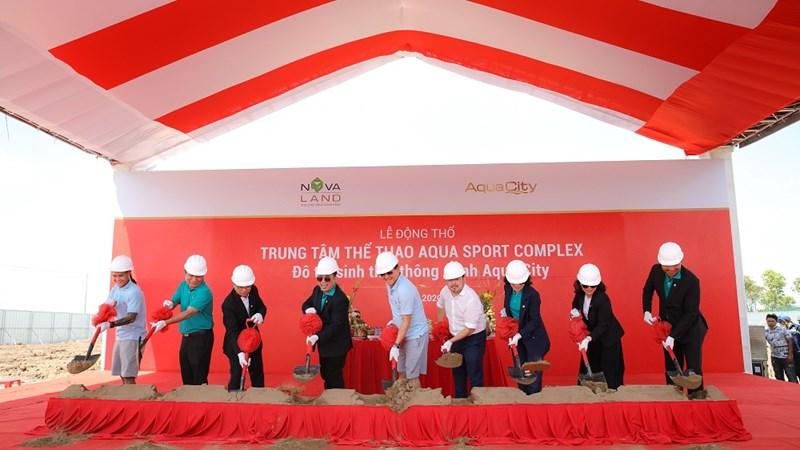 Chính thức khởi công và công bố đối tác vận hành Trung tâm thể thao đa năng Aqua Sport Complex