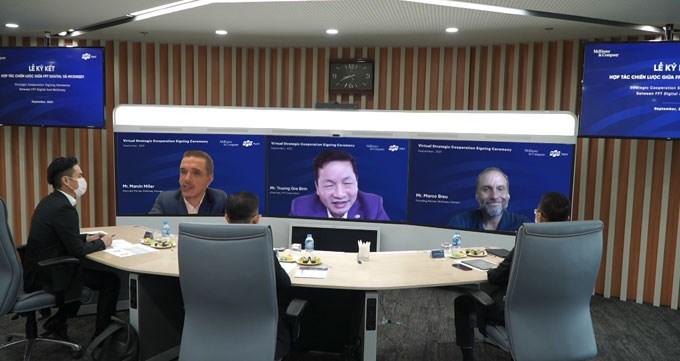 FPT Digital hợp tác với McKinsey Việt Nam thúc đẩy chuyển đổi số các doanh nghiệp trong nước