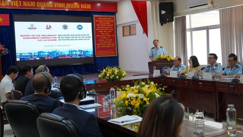 Hải quan TP. Hồ Chí Minh đề xuất hướng giảm ùn tắc tại cảng Cát Lái