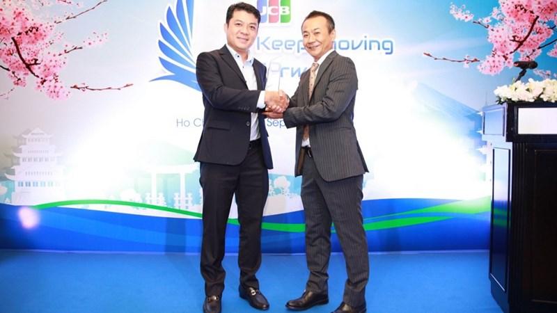 Eximbank nhận giải thưởng từ tổ chức thẻ quốc tế JCB